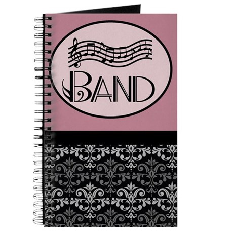 Band Music Notebook Journal Journal
