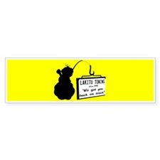 Lakitu Towing Bumper Sticker