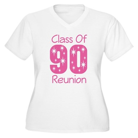 Class of 1990 Reunion Women's Plus Size V-Neck T-S