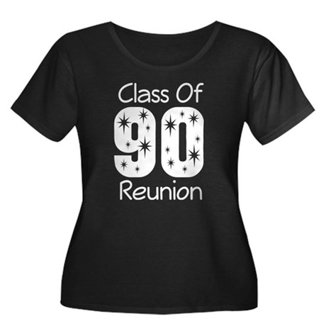 Class of 1990 Reunion Women's Plus Size Scoop Neck