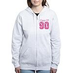Class of 1990 Women's Zip Hoodie