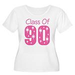 Class of 1990 Women's Plus Size Scoop Neck T-Shirt