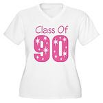 Class of 1990 Women's Plus Size V-Neck T-Shirt