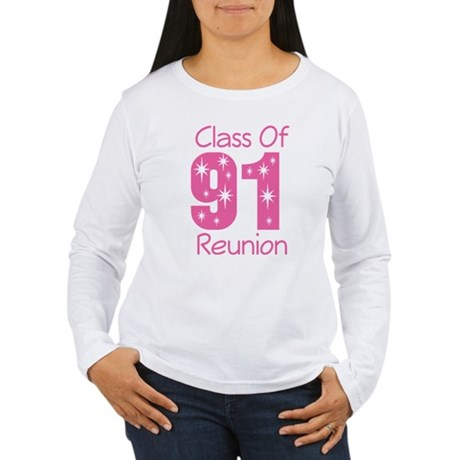 Class of 1991 Reunion Women's Long Sleeve T-Shirt