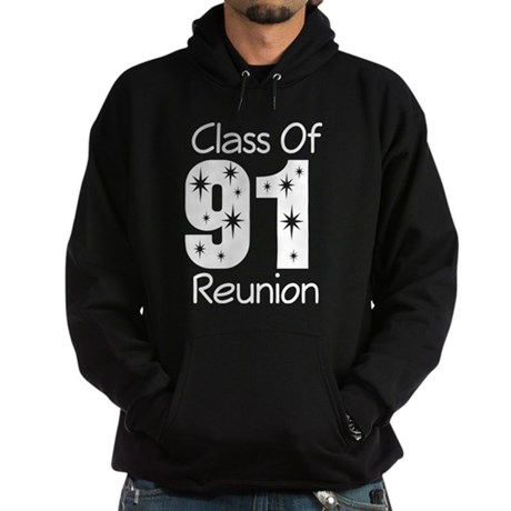 Class of 1991 Reunion Hoodie (dark)