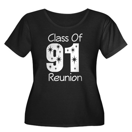 Class of 1991 Reunion Women's Plus Size Scoop Neck