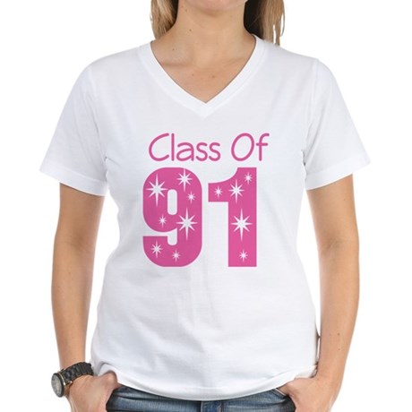 Class of 1991 Women's V-Neck T-Shirt