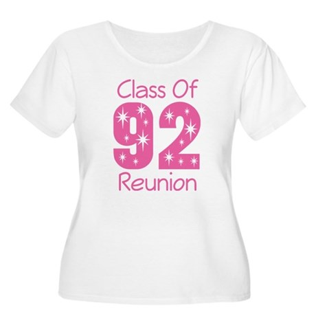Class of 1992 Reunion Women's Plus Size Scoop Neck