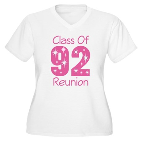 Class of 1992 Reunion Women's Plus Size V-Neck T-S