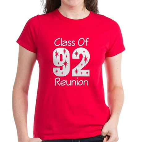 Class of 1992 Reunion Women's Dark T-Shirt