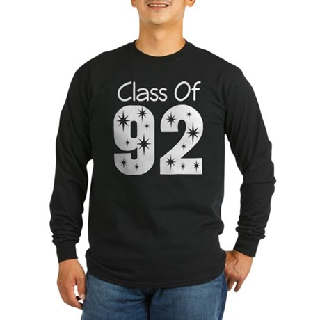 Class of 1992 Long Sleeve Dark T-Shirt