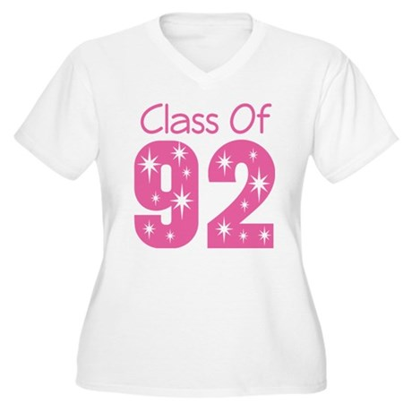 Class of 1992 Women's Plus Size V-Neck T-Shirt