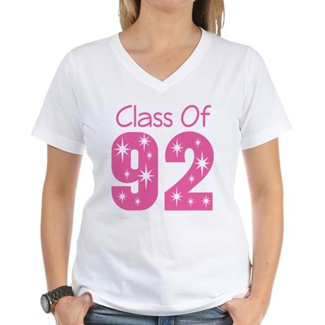 Class of 1992 Women's V-Neck T-Shirt