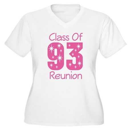 Class of 1993 Reunion Women's Plus Size V-Neck T-S