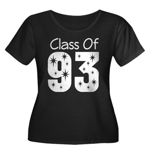 Class of 1993 Women's Plus Size Scoop Neck Dark T-