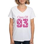 Class of 1993 Women's V-Neck T-Shirt