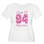 Class of 1994 Reunion Women's Plus Size Scoop Neck