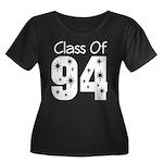 Class of 1994 Women's Plus Size Scoop Neck Dark T-