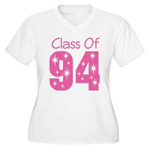 Class of 1994 Women's Plus Size V-Neck T-Shirt