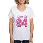 Class of 1994 Women's V-Neck T-Shirt