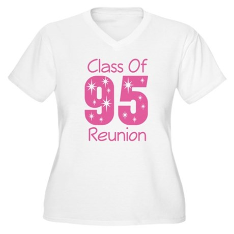 Class of 1995 Reunion Women's Plus Size V-Neck T-S