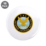 "Defense Courier Service 3.5"" Button (10 pack)"