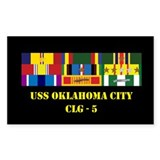 USS Oklahoma City CLG-5 Decal