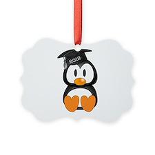 Custom Gradution Penguin Ornament