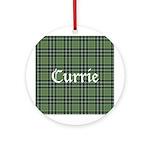 Tartan - Currie Ornament (Round)