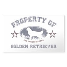 Golden Retriever Decal