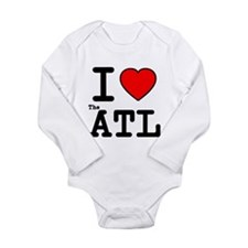 I Love The ATL Long Sleeve Infant Bodysuit