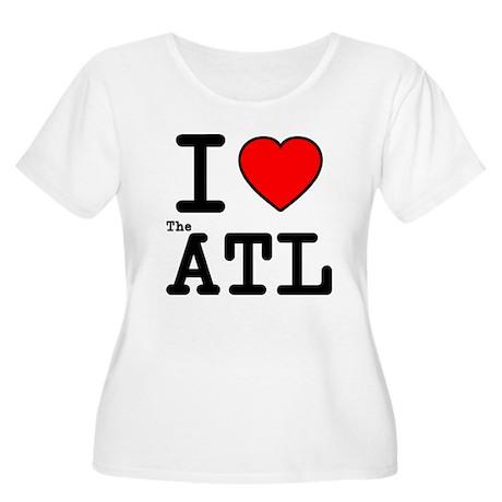 I Love The ATL Women's Plus Size Scoop Neck T-Shir