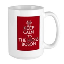 Keep Calm its Higgs Boson Mug