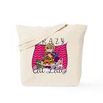 Crazy Cat Lady [Blonde] Tote Bag