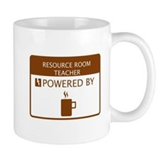 Resource Room Teacher Powered by Coffee Mug
