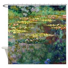 Monet - Le Bassin Shower Curtain