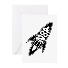 To Infinity And Beyond Greeting Cards (Pk of 10)