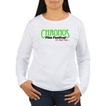 Chronos Logo Women's Long Sleeve T-Shirt