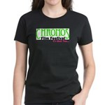 Chronos Logo Women's Dark T-Shirt