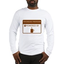Psychology Professor Powered by Coffee Long Sleeve