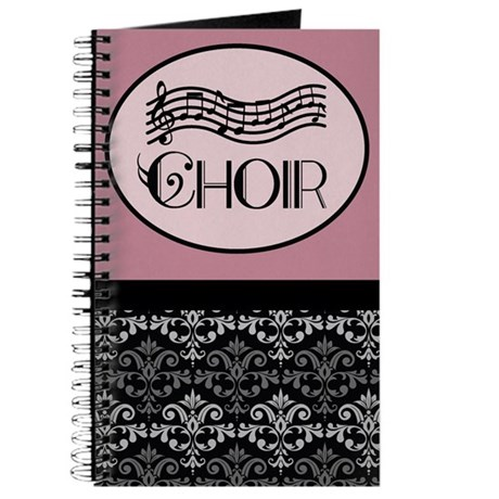 Choir Music Notes Journal