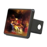 St Anne, Education of Mary Rectangular Hitch Cover