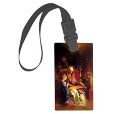 Saint Anne, Education of Mary Luggage Tag