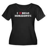I Love Belo Horizonte Women's Plus Size Scoop Neck