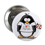 Florida Penguin Button