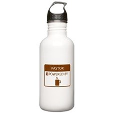 Pastor Powered by Coffee Water Bottle