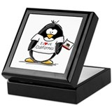 California Penguin Keepsake Box