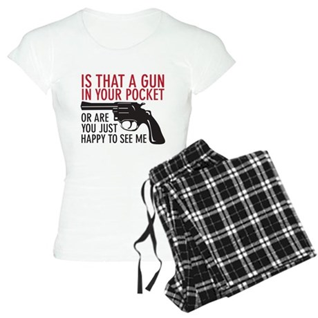 gun in your pocket Women's Light Pajamas
