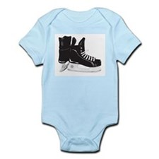Hockey Skates Infant Bodysuit