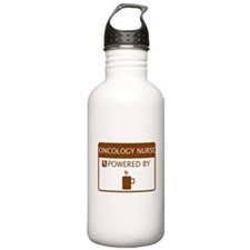 Oncology Nurse Powered by Coffee Water Bottle